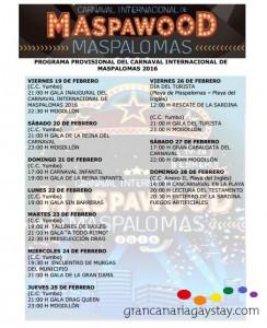 Programa Carnaval Internacional de Maspalomas-GranCanariaGayStay