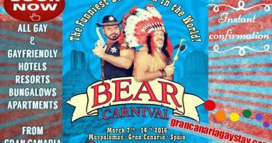 bear carnaval 2016 - grancanariagaystay.com