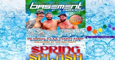 Spring Splash Basement 06.03.16 GranCanariaGayStay