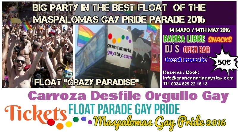 Gay pride tickets