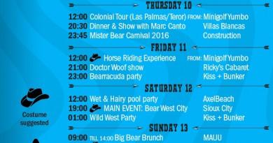 bear carnaval 2016 program - grancanariagaystay.com
