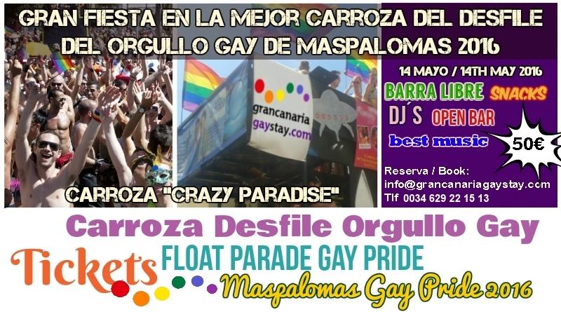 Gay Pride Parade Maspalomas 2016-GranCanariaGayStay2.C