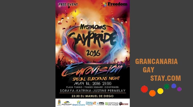 14May Maspalomas Gay Pride 2016- GranCanariaGayStay