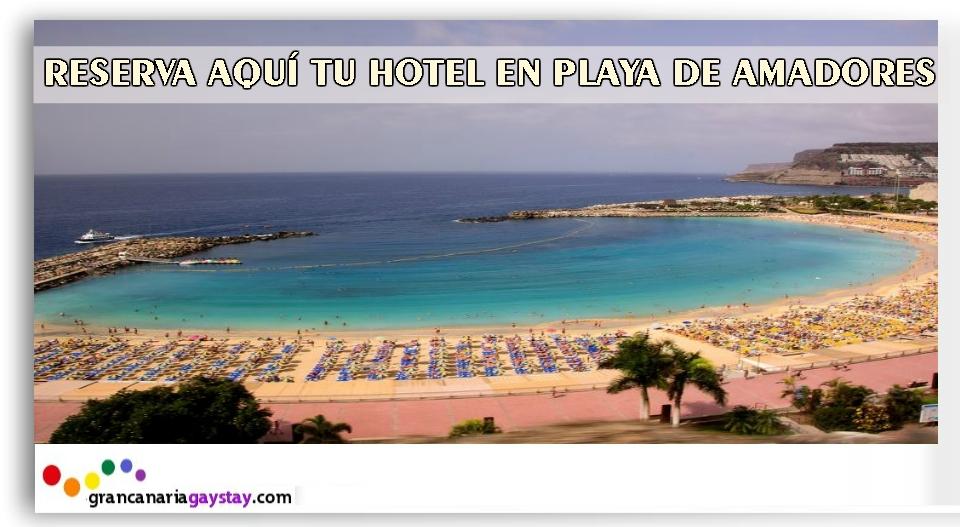 Playa de Amadores-GranCanariaGayStay