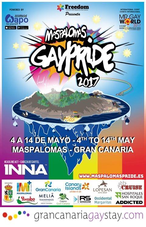 Maspalomas pride 2017 gay hotels gran canaria - Trabaja con nosotros gran canaria ...