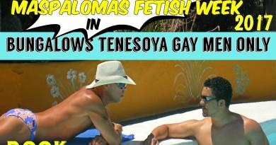 Gay Hotel for the Maspalomas Fetish Week 2017