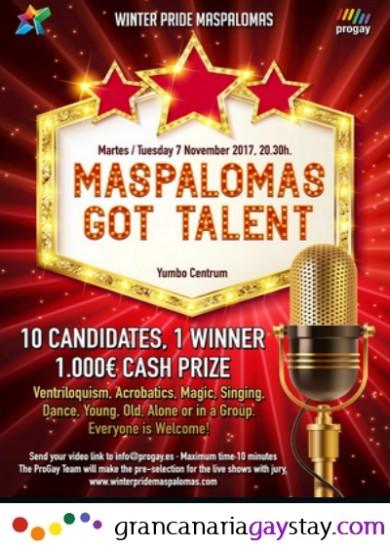 07.11.17 Maspalomas Got Talent-GranCanariaGayStay