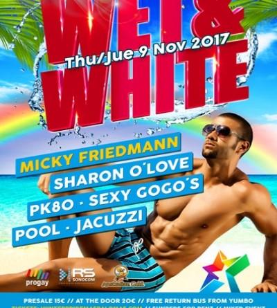 Winter Pride Maspalomas 2017- Wet & White- GranCanariaGayStay.com