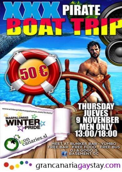 09.11.17 XXX Boat Trip-GranCanariaGayStay