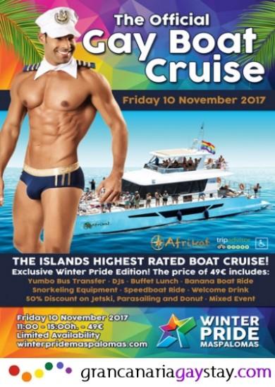 10.11.17 Gay Boat Cruise-GranCanariaGayStay