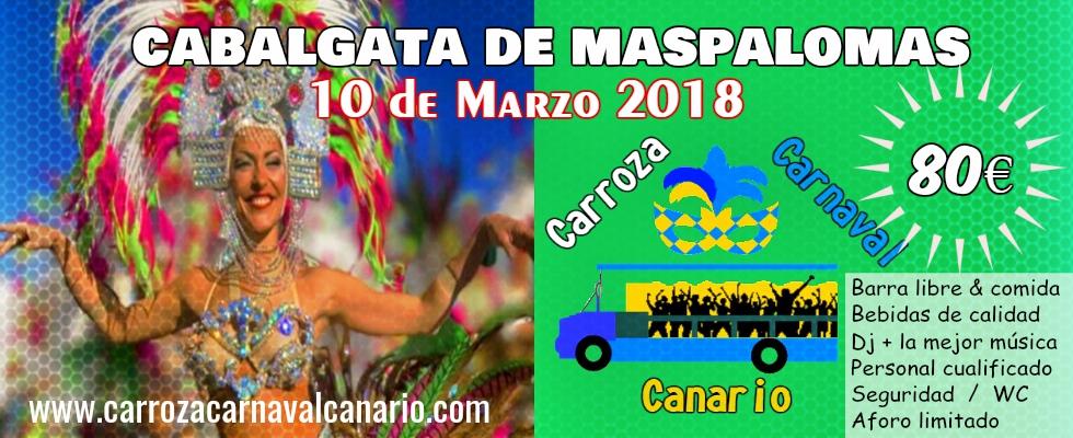 CarrozaCarnavalCanario-CabalgataMaspalomas-80€