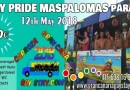 Float-parade tickets for the Maspalomas Pride Parade 2018 – Let´s go!