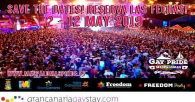 Programa Maspalomas Gay Pride 2019 – Gran Canaria
