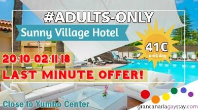 SunnyVillage-GranCanariaGayStay-offer