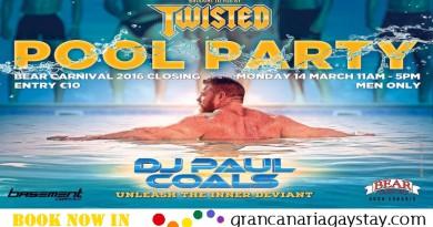 Twisted Pool Party 14.03 - GranCanariaGayStay