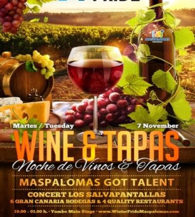 07.11.17 Wine and Tapas-GranCanariaGayStay