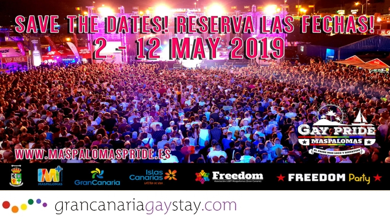 Gay Pride Maspalomas 2019 Ultimas Noticias